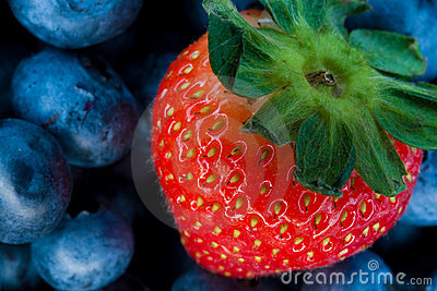 Strawberry and bluberry series