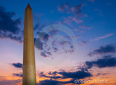 Washington Monument - Sunset