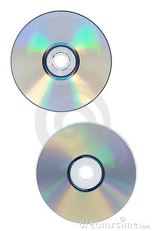 Dvd and cd disc