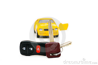 Car keys and car