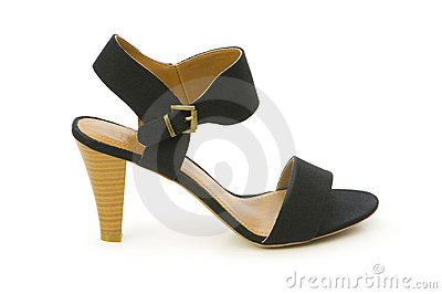 Woman shoes isolated