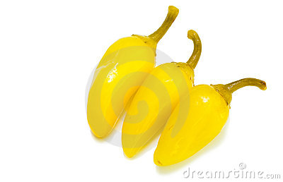 Yellow Chilli Peppers