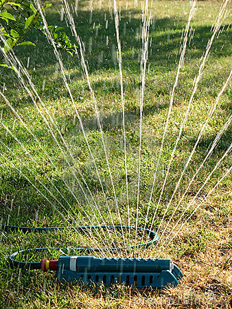 Irrigation water sprinkler