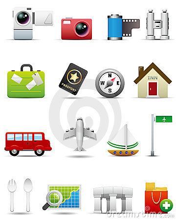 Travel Icon Set -- Premium Series
