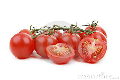 Little tomato isolated