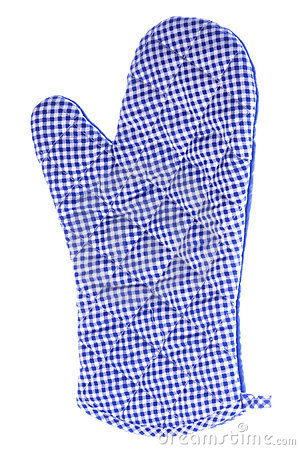 Kitchen Glove Isolated