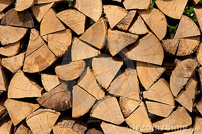Pieces firewood