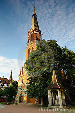 Church of Saint George in Sopot, Poland.