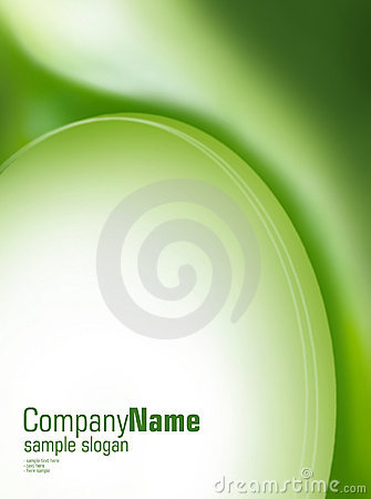 Artistic green background