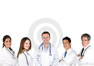 Group of doctors