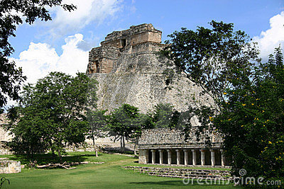Archeological site of Uxmal