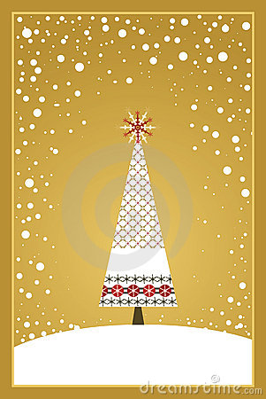 Christmas Card Series - Gold