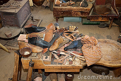 Vintage Shoe Repair Shop