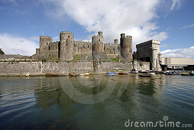 View of Conwy Castle