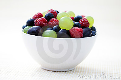 Summer berry fruits
