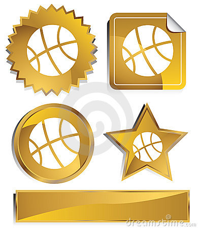 Gold - Basketball