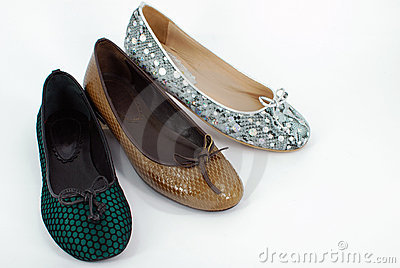 Lady ballet flat shoes