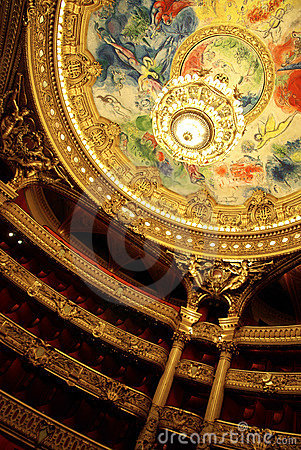 Paris opera interior