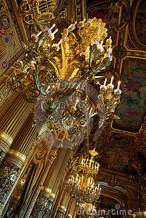 Paris opera corridor interior