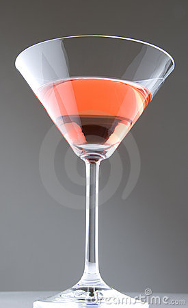 Cosmopolitan Martini On Gray