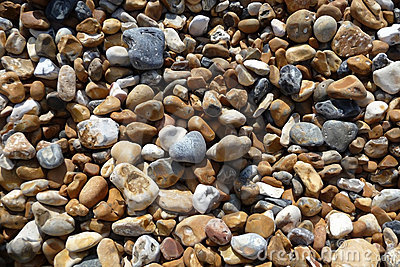 Stones On Brighton Beach