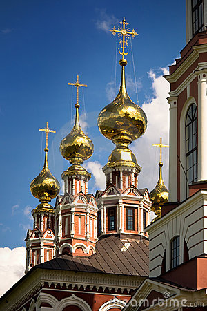 Traditional russian church