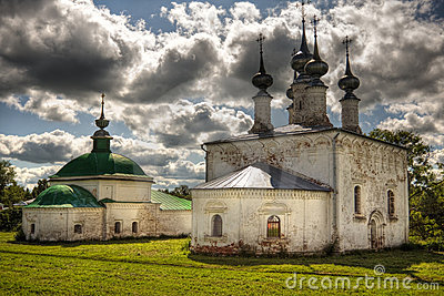 Traditional russian churches