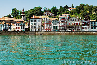 Fishing village in the Basque country