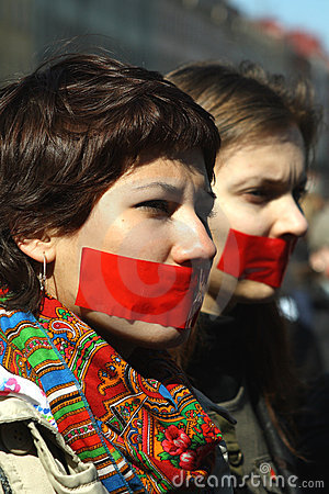 Day of silence in Saint Petersburg