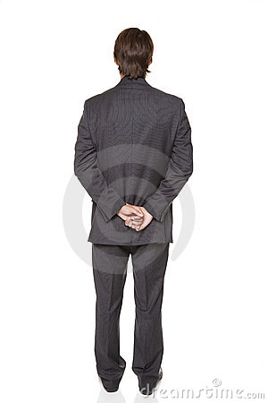 Businessman - back side