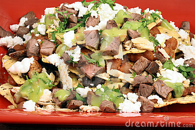 Authentic mexican nachos