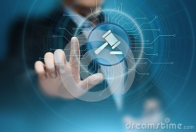 Attorney at Law Business Legal Lawyer Auction Internet Technology