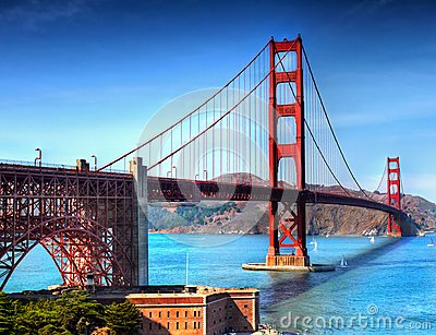 Golden Gate Bridge San Francisco, California