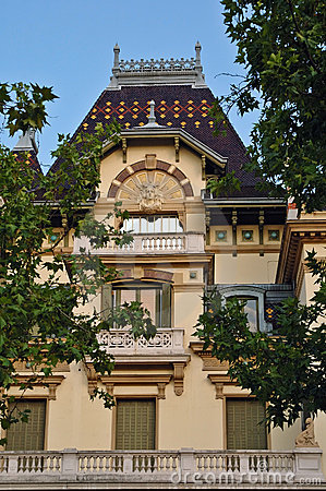 The Lumiere brothers' house in Lyon (France)