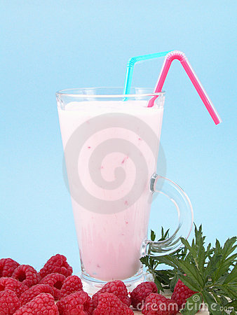 Raspberry smoothie