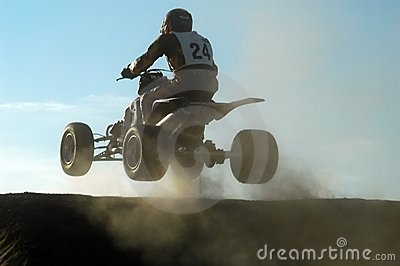 Jumping with a quad
