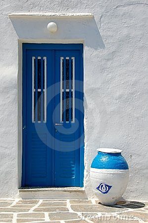 Doorway in cyclades