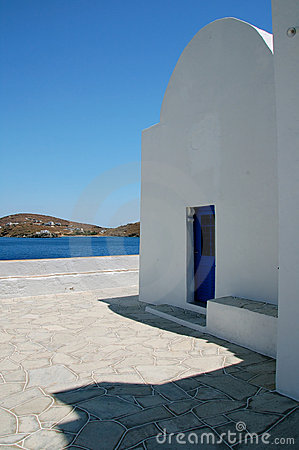 Chapel in Cyclades
