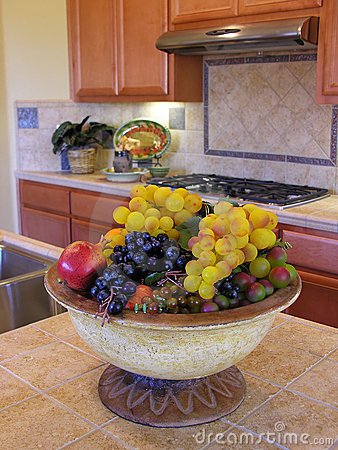 Grapes in the Kitchen