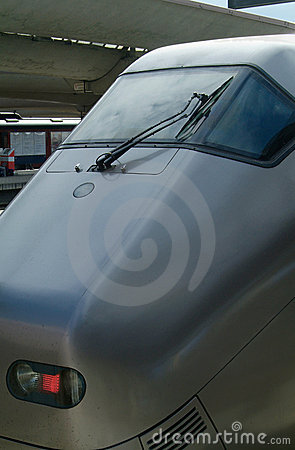 Detail of express-train