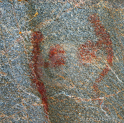 Agawa Pictographs - Two Figures