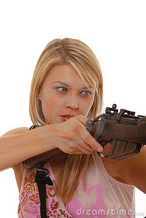 Rifle Lady Two