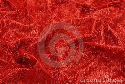 Fancy red fabric