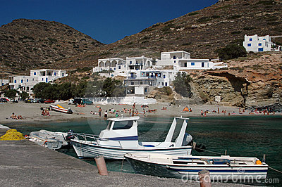 Beach greek islands