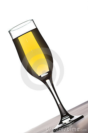 Glass of champaign