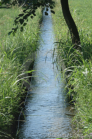 Little water canal