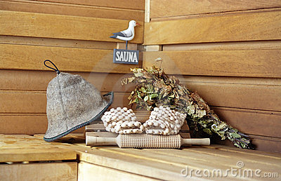 Sauna. All ready...