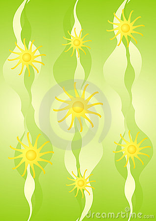 Yellow green wallpaper