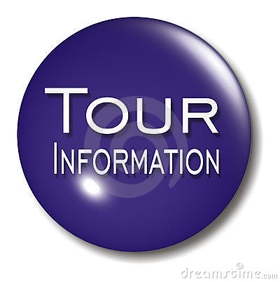 Tour Information Button Orb sign