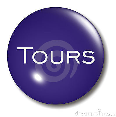 Tours Button Orb sign